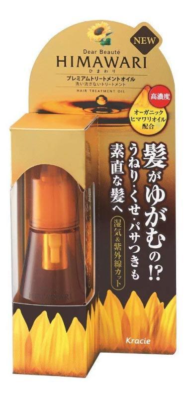 DẦU DƯỠNG TÓC HIMAWARI CHAI BỰ 60ML MADE IN JAPAN