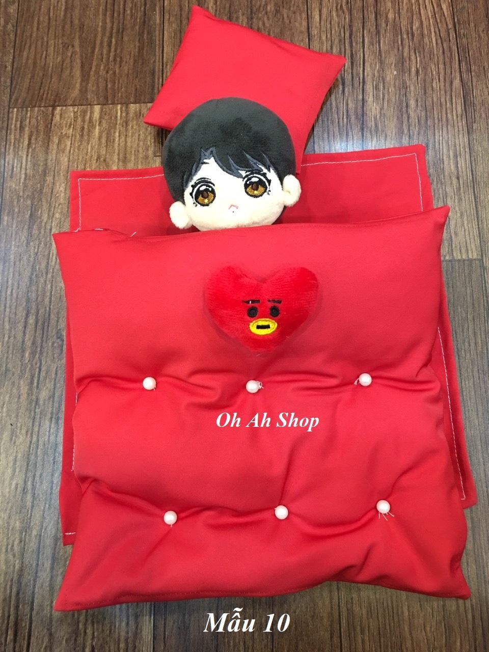 Bộ Chăn Ga Gối đệm Cho Doll Giá Rẻ Bất Ngờ