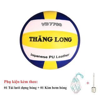 Bóng Chuyền Da Thăng Long VB7700 + Túi Lưới Đựng Bóng + Kim Bơm Bóng thumbnail