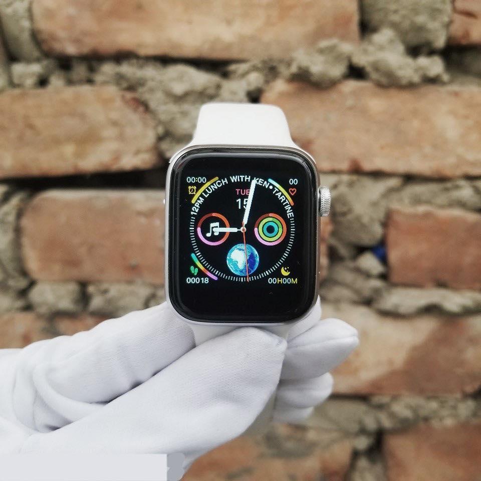 SIÊU RẺ-Đồng hồ thông minh W34 copy Apple_watch_ hàng chuẩn REP_1:1 giống hình-nói không với sai hàng…………SP liên_quan nam_nữ_casio_thể thao_điện tử_apple watch_a1_smart watch_dây da_đẹp_dây thép_đeo tay_mặt vuông_dây kim loại_series 4 Nhật Bản