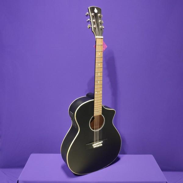 Đàn guitar acoustic có ty SVA102 + EQ 7545 kết nối loa có ty chống cong, tặng 7 phụ kiện