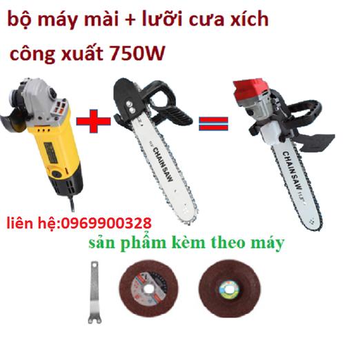 COMBO bộ lưỡi cưa xích+máy mài - ww332 - HCYG