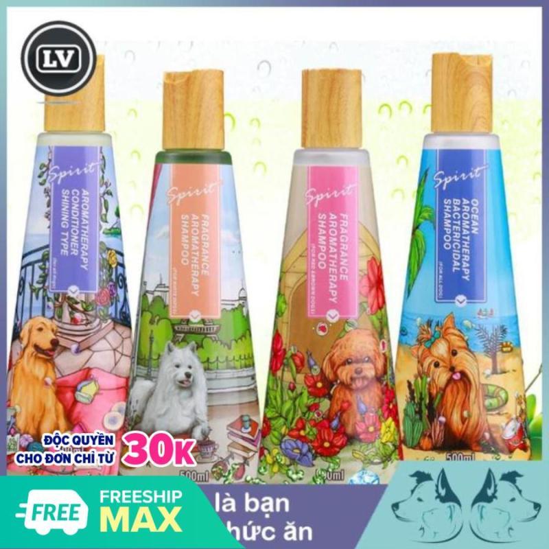 Sữa tắm cho chó hương nước hoa SPIRIT 500ml Phụ kiện Long Vũ