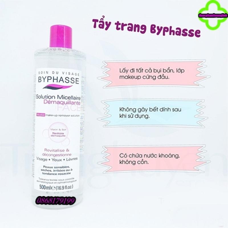 [Chính Hãng] Nước tẩy trang Byphasse dành cho mọi loại da 500ml nhập khẩu