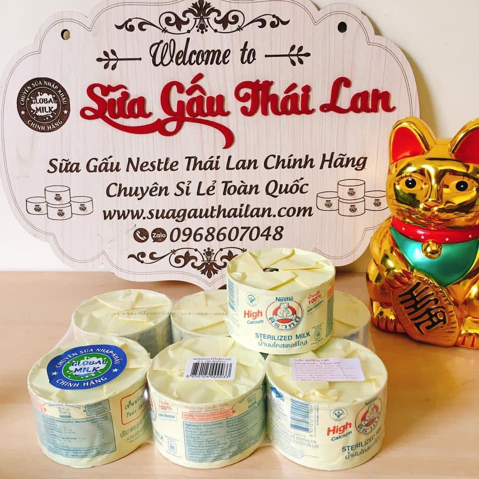 1 Thùng Sữa High Canxi Nestle Bear Brand Thailand