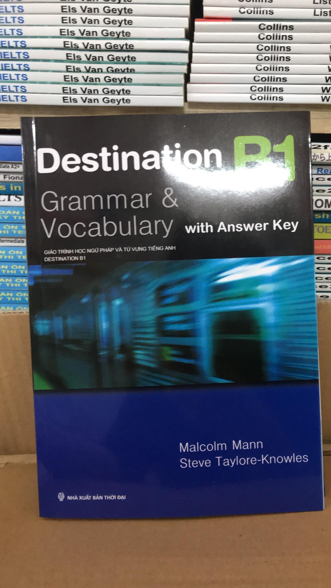 Destination B1 Grammar And Vocabulary Siêu Giảm Giá
