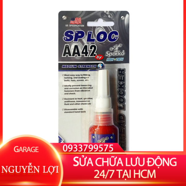 [ SỬA CHỮA LƯU ĐỘNG 24/7 HCM ] Keo khóa ren SPLOC AA42 (10ml) GARA NGUYỄN LỢI