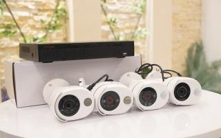 Bộ kits 4 camera báo khói, báo ga, báo chuyển động TẶNG KÈM Ổ 1T thumbnail