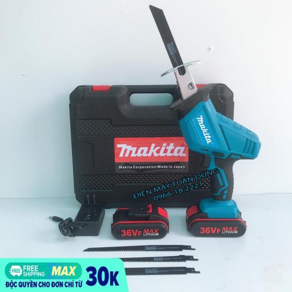 Máy cưa kiếm Makita 36V, 2 PIN, 100% DÂY ĐỒNG - TẶNG 4 LƯỠI CƯA