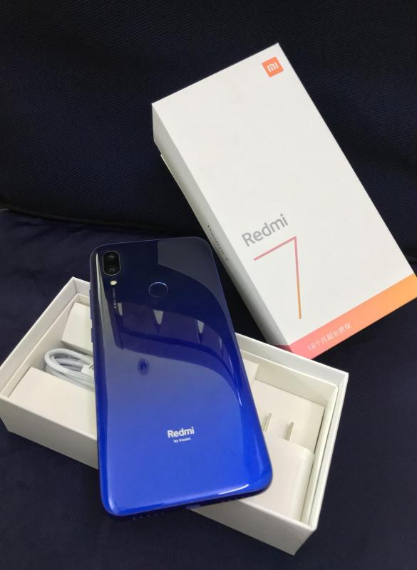 Điện thoại xiaomi redmi 7 ram 4gb bộ nhớ 64 gb fullbox