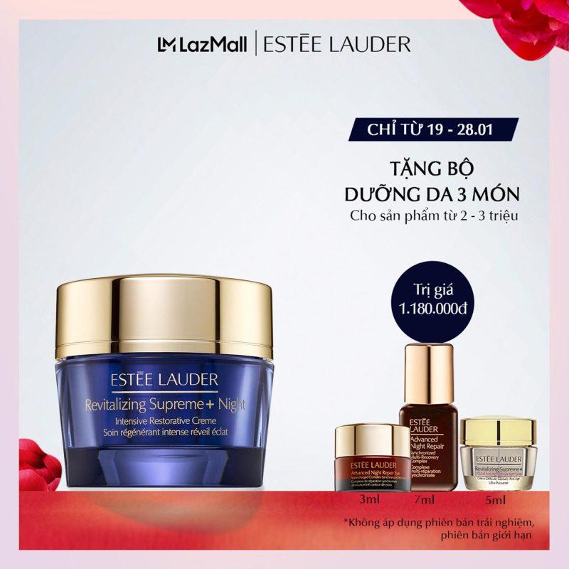 Kem dưỡng ban đêm chống lão hóa và tái tạo chuyên sâu Estee Lauder Revitalizing Supreme+ Night Intensive Restorative Crème giá rẻ
