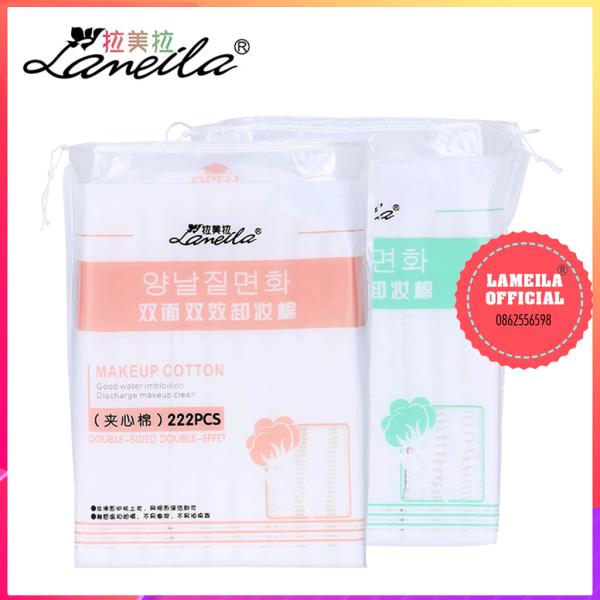 Bông tẩy trang Lameila 222 miếng chính hãng tốt nhất