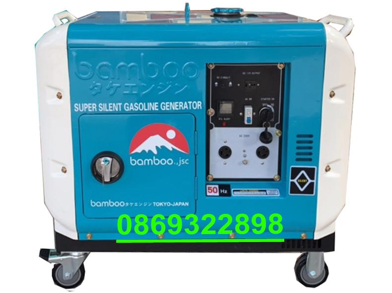 Máy phát điện Nhật Bản 12kva Có tủ Tự động phát điện khi mất điện