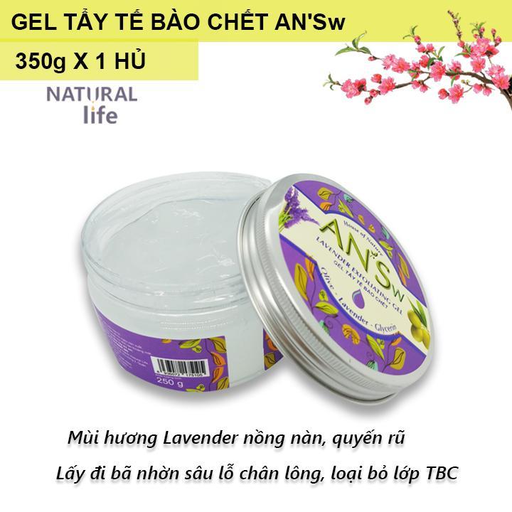 Tẩy Tế Bào Da Chết Toàn Thân Body Lavender - ANSw (250g x 1 hủ) cao cấp