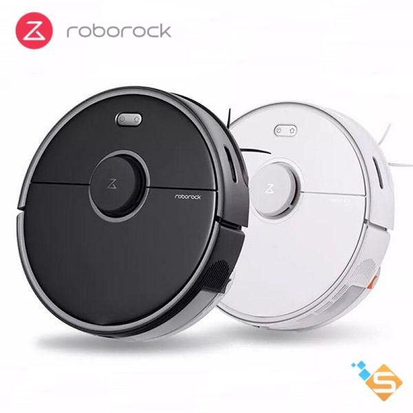 Robot Hút Bụi Lau Nhà Xiaomi Roborock S5 MAX 2000pa pin 5200mAh - Bản Quốc Tế - Điều Khiển Bằng Smartphone, lập bản đồ, lên lịch dọn nhà - Bảo Hành 6 Tháng