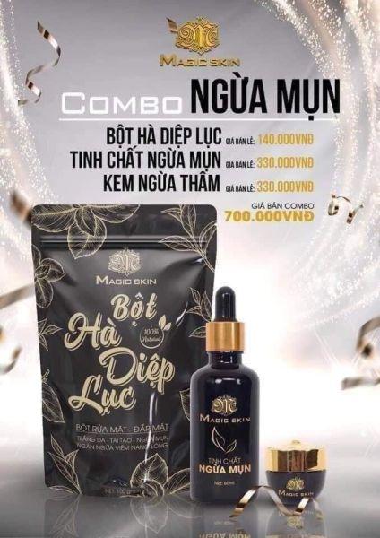 ComBo Sạch Mụn Hết Thâm 100% giá rẻ