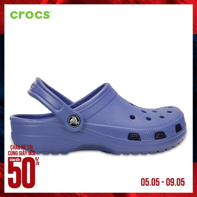CROCS Giày Clog Unisex Classic 10001 giá rẻ