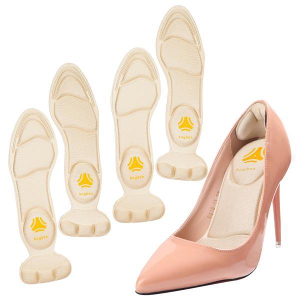 2 cặp lót giày cao gót mũi nhọn giảm size cho giày bị rộng, thoáng khí và êm chân- buybox - BBPK55 giá rẻ
