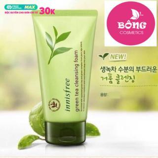 [ CHÍNH HÃNG ] Sữa rửa mặt chiết xuất trà xanh Innisfree Hàn Quốc (150ml) thumbnail