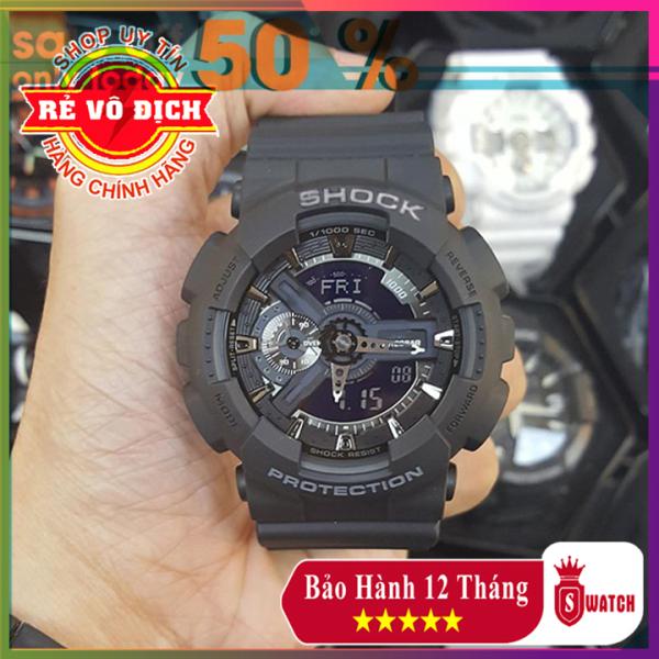 Đồng hồ thể thao nam G-Shock GA110 ⚡FreeShip⚡ Chống nước đa năng, Trẻ trung, Năng động - Đồng hồ nam thể thao ⚡ BH 12 tháng [Mẫu bán chạy nhất]