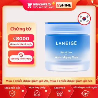 Bản gốc Hàn Quốc Laneige Mặt nạ ngủ 70ml Mặt nạ ngủ dưỡng ẩm và cấp nước dùng một lần Hàn Quốc Laneige Mặt nạ ngủ cấp nước 70ml thumbnail