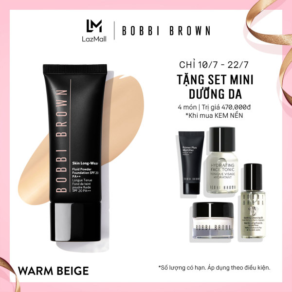 Kem nền linh hoạt Phấn - Nước Bobbi Brown Skin Long-Wear Fluid Powder Foundation SPF 20 40ml