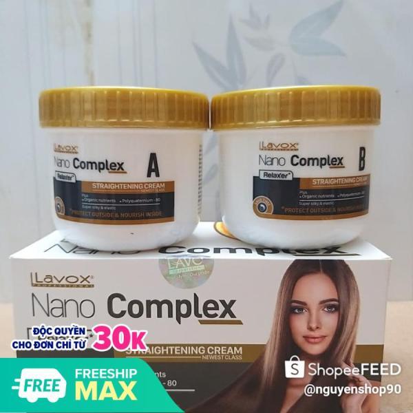 Thuốc duỗi tóc LaVox NaNo COMPEX 150 ml