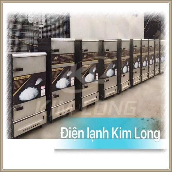 Tủ cơm công nghiệp Kim Long