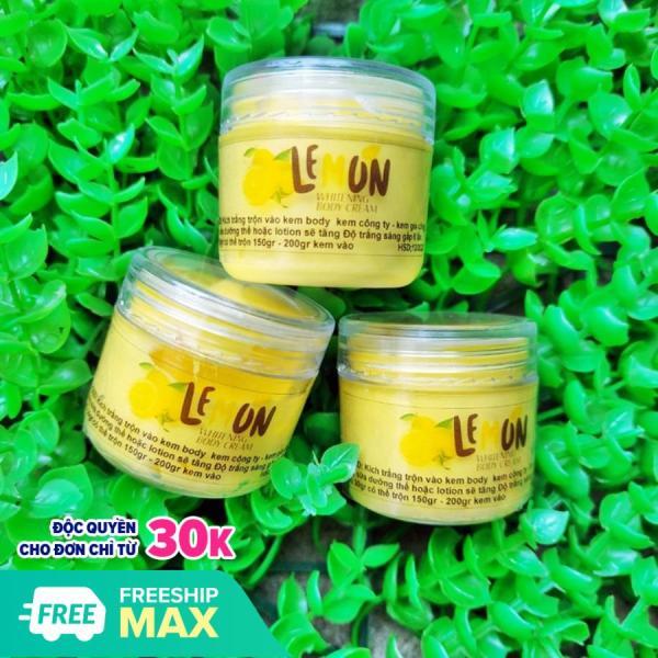 Combo 2 Kem ủ kích trắng Lemon Chanh trắng gấp 6 lần