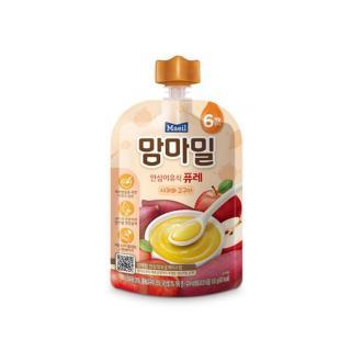 Cháo ăn dặm Mam ma Mael nhập khẩu Hàn Quốc Táo và Khoai lang nghiền cho bé từ 6M thumbnail