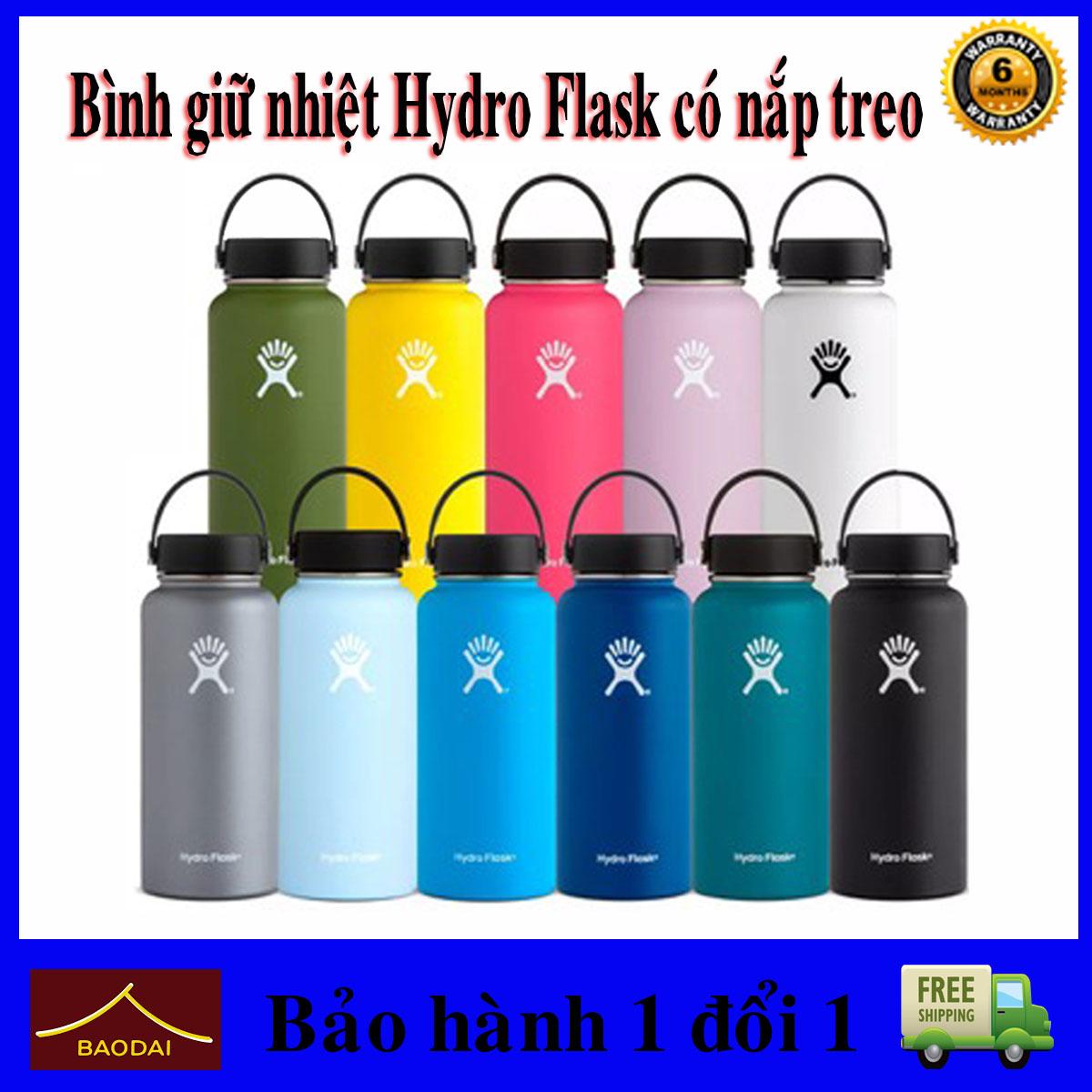 Bình Giữ Nhiệt Hydro Flask Bình Giữ Nhiệt Chân Không Thép Không Gỉ Di Động Ngoài Trời Nước Thể Thao.shop Baodaik Giá Siêu Cạnh Tranh
