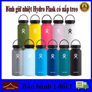 Bình giữ nhiệt Hydro Flask Bình Giữ Nhiệt Chân Không Thép Không Gỉ Di Động Ngoài Trời Nước Thể Thao.shop baodaik thumbnail