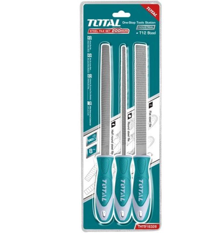 Bộ 3 giũa gỗ đa năng Total THT918326