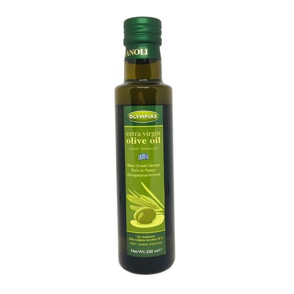 Dầu oliu siêu nguyên chất Olympias 250ml nhập khẩu