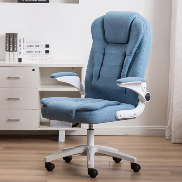 [CÓ VIDEO]Ghế văn phòng nỉ , tay gấp 90 độ YIRUITE, ghế xoay văn phòng mẫu mới chống gù lưng giá rẻ