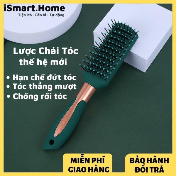 Lược chải tóc tạo kiểu tóc thế hệ mới giúp giảm rụng tóc và làm bồng bềnh tóc - Thẳng mượt  iSmart.Home cao cấp