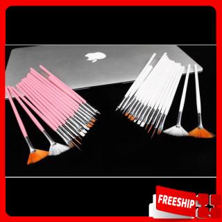 [XẢ KHO] Cọ vẽ móng - Bộ cọ 15 cây vẽ móng, dụng cụ cọ vẽ móng tay, móng chân tiện lợi - Dụng cụ làm móng - Bộ cọ vẽ móng tay nghệ thuật thumbnail
