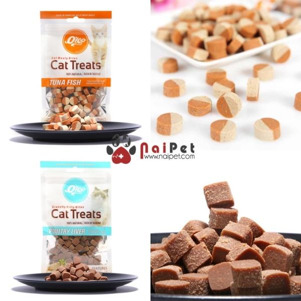 Đồ Ăn Vặt Bánh Thưởng Cho Mèo Cat Treats Orgo 60g