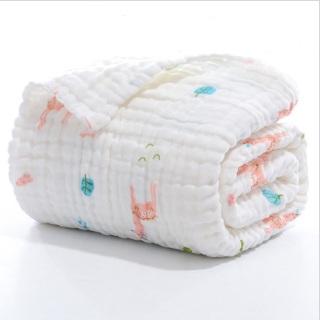 Chăn lưới chống ngạt 6 lớp cao cấp ( SIZE 100 x 100 cm), có thể làm Khăn tắm cho bé, chất liệu 100% sợi bông hữu cơ an toàn thumbnail
