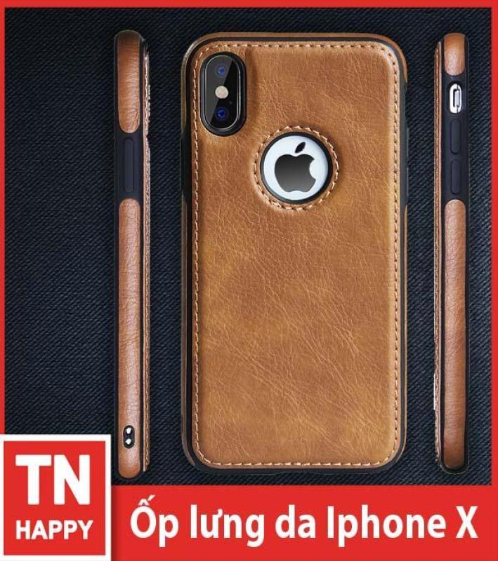 Giá Ốp lưng da iPhone X chất lượng cao - TN Happy phân phối