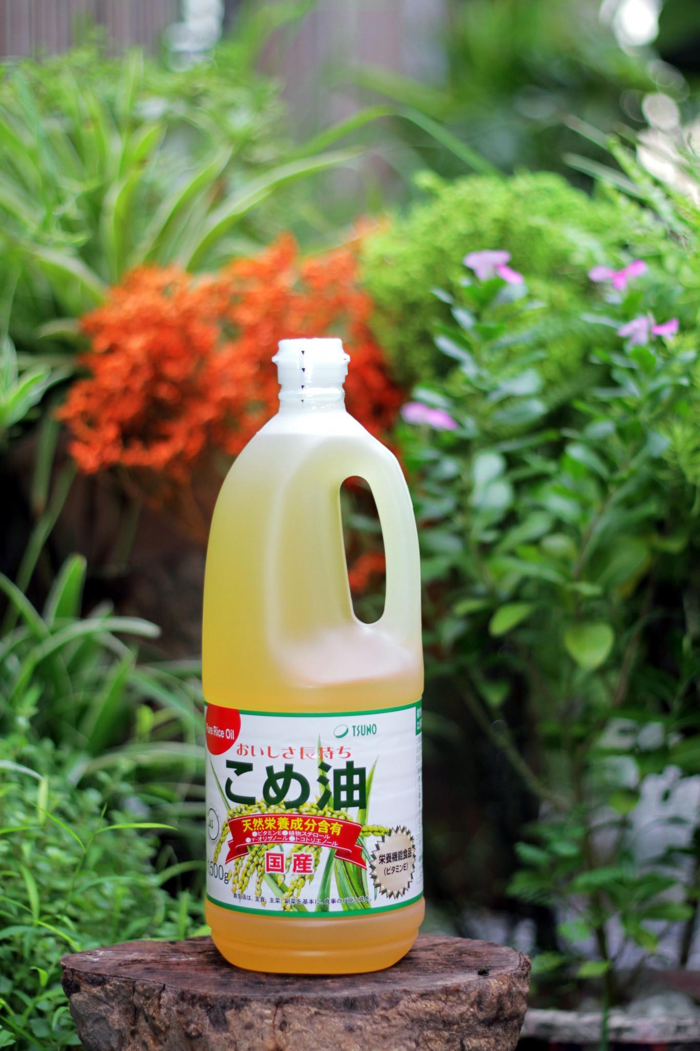 Dầu gạo cao cấp Tsuno Nhật Bản 1500grnội địa Nhật Bản - JStore