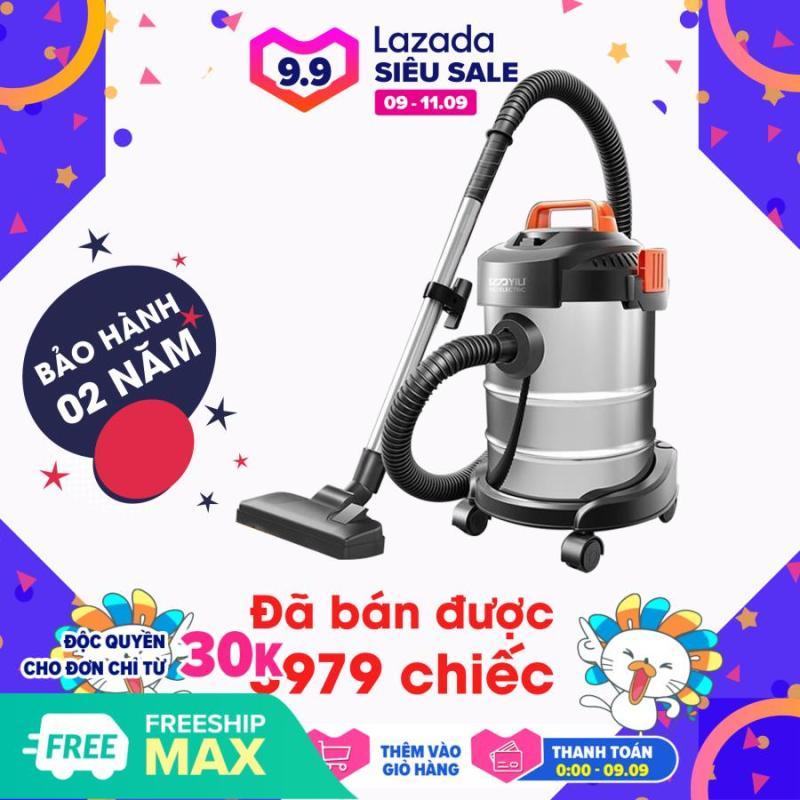 [FREESHIP MAX] Máy hút bụi YILI, máy hút bụi công nghiệp YILI 12L công suất 1200W  lõi lọc vải, phục vụ trong nhà lớn, nhà hàng, khách sạn