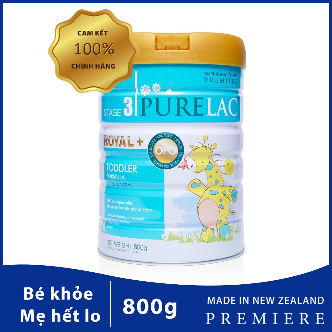Sữa PureLac nhập khẩu New Zealand cho trẻ 12-36 tháng