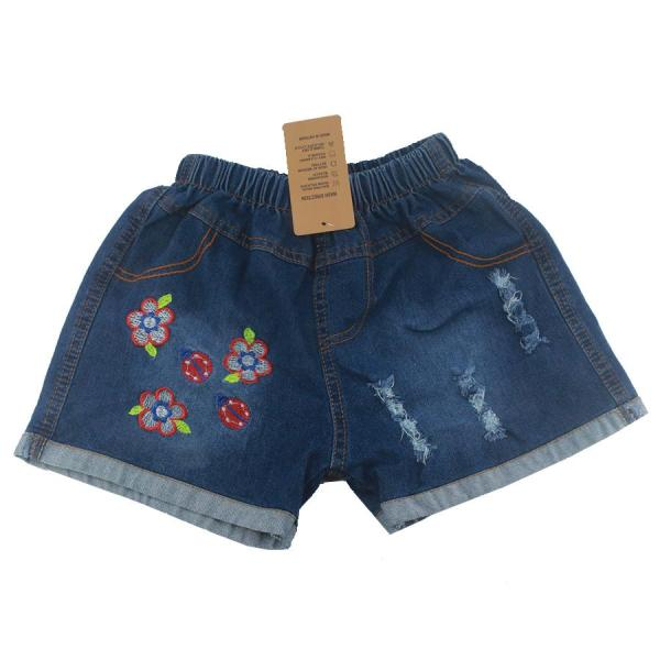 Giá bán Quần jean cotton bé gái, Quần short jean cotton bé gái 3-10 tuổi