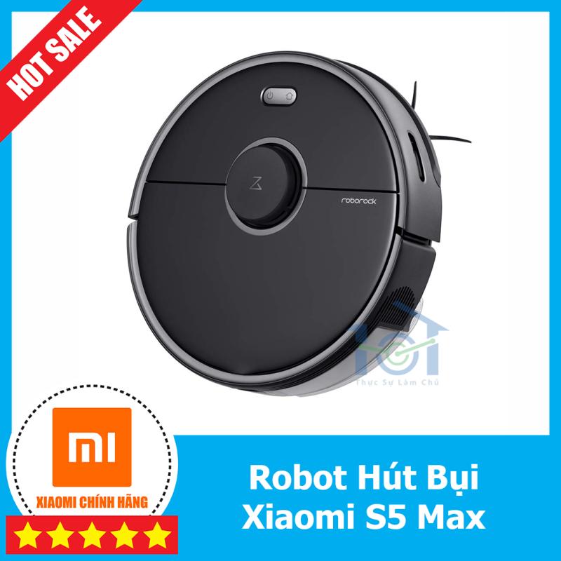 Robot Xiaomi Roborock S5 Max - Bản quốc tế - mới nguyên seal, hỗ trợ lưu 4 tầng.
