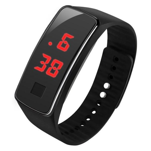 Nơi bán Vòng đeo tay kỹ thuật số LED Silicone Đồng hồ đeo tay thể thao điện tử phát sáng Chống thấm nước