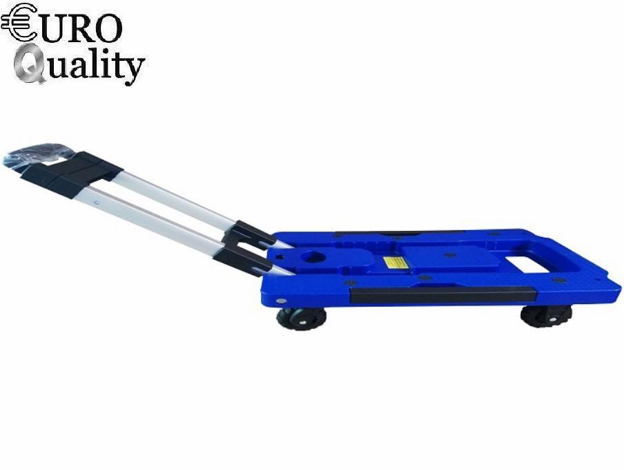 Euro Quality -Xe kéo hành lý gấp gọn du lịch chịu tải 200kg EuroQuality (Dark Blue)
