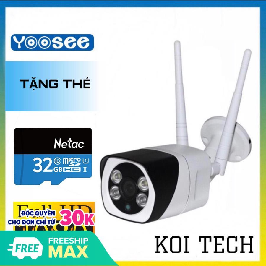 [VỎ BẰNG THÉP CHỐNG NƯỚC TẶNG THẺ 32GB CHUYÊN CAMERA ] Camera z10 3.0 wifi ip yoosee 3.0Mp 1920 x 1080P Full HD S10 NGOÀI TRỜI - TRONG NHÀ XEM ĐÊM CÓ MÀU - CAMERA WIFI 3M CHỐNG NƯỚC 1080