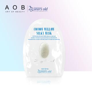 Mặt nạ dưỡng da lụa kén tằm cấp ẩm và trắng da 23 Years Old Cocoon Willow Silky Mask 43g - HDS 02.2021 thumbnail