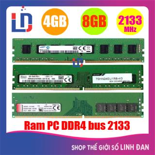 Ram máy tính để bàn 8GB 4GB DDR4 bus 2133 samsung hynix micron kingston ... PCR4 TH thumbnail